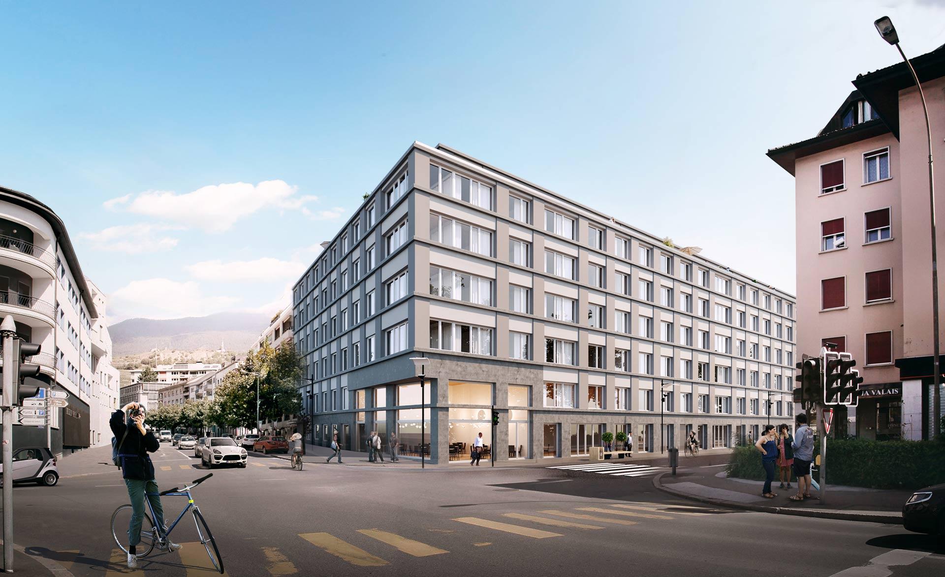 Immeuble La Clarté – Sion (VS)1