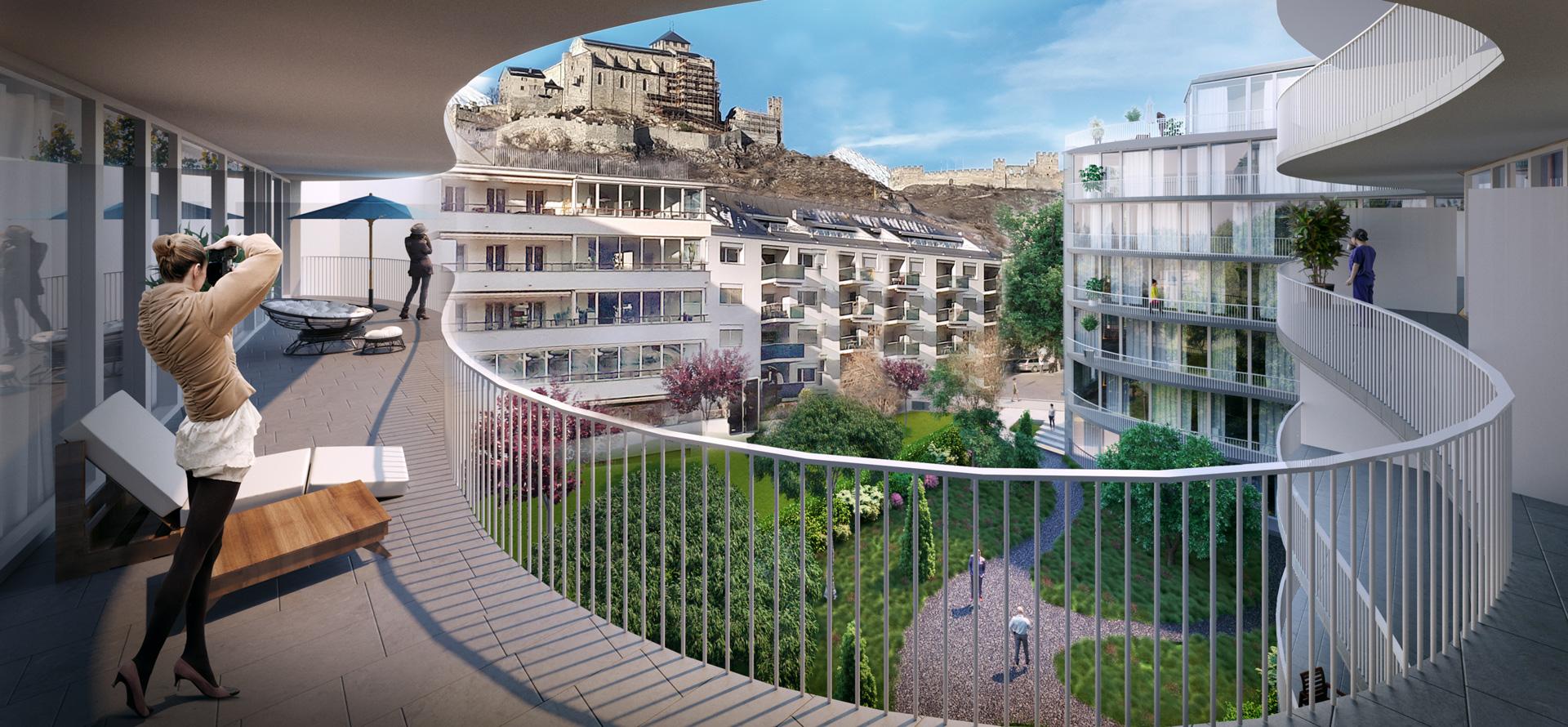 Immeuble La Clarté – Sion (VS)2